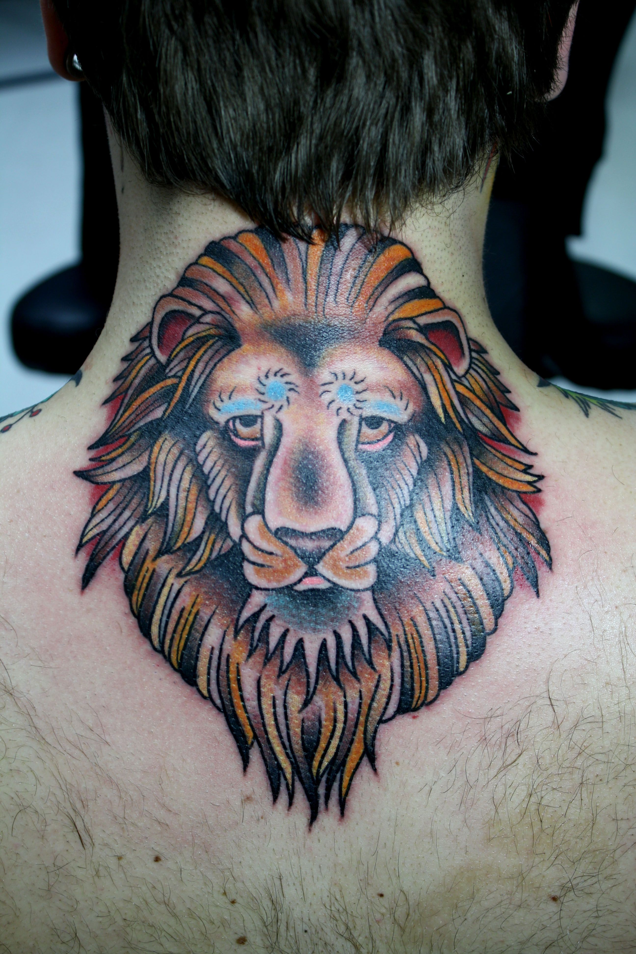 Traditional lion tattoo traditional lion tattoo trad lion traditional lion tattoo flash lion tattoos designs ideas and meaning buycottarizona Gallery