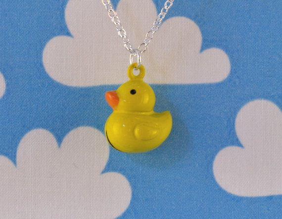 Duck Necklace Jingle Bell
