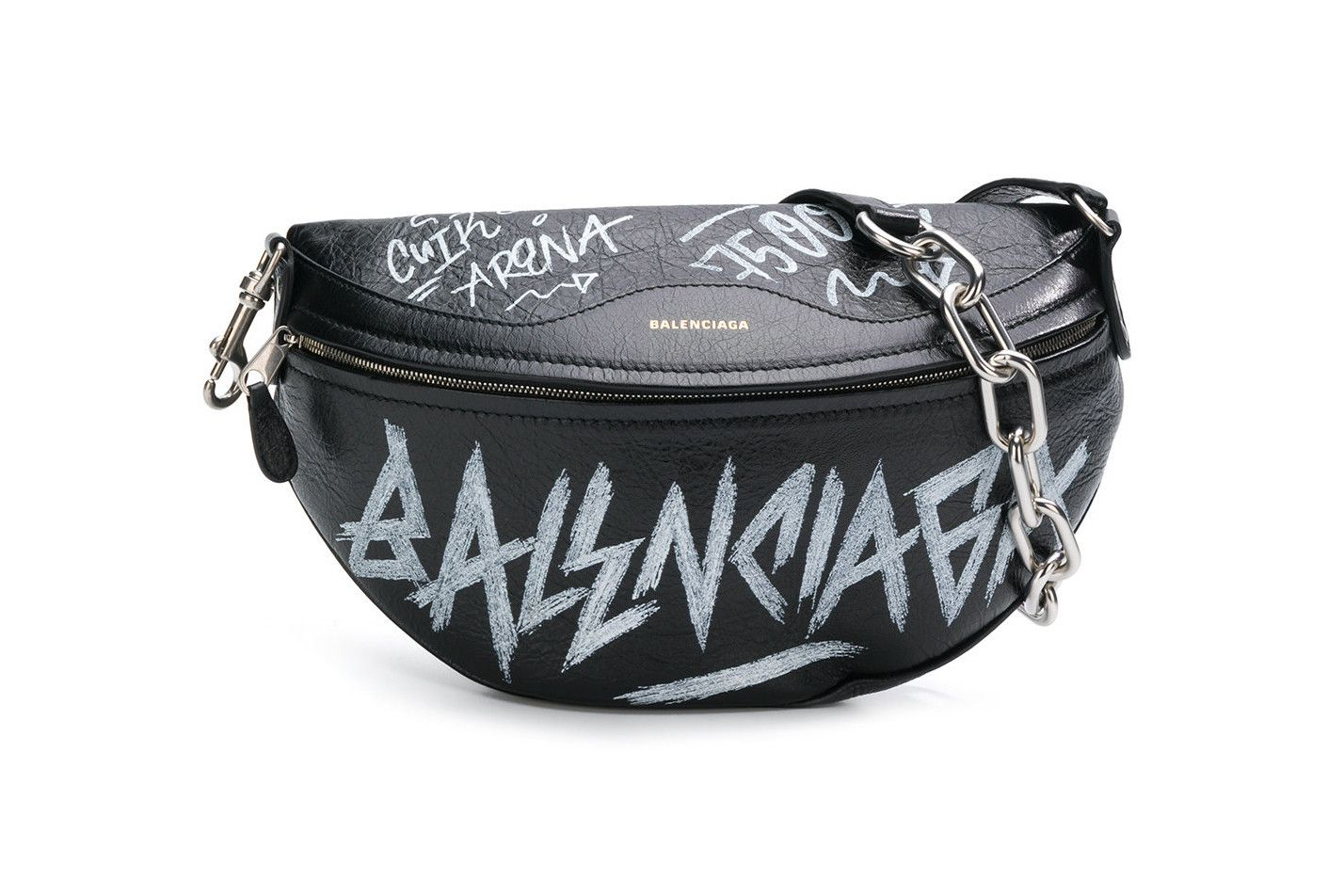 7a2fc5ff69e6 Balenciaga's Souvenir Belt Bag Gets Covered in Graffiti in 2019 ...