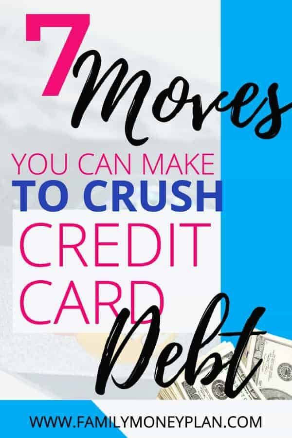 Ways to Pay Off Credit Card Debt 7 Things I\u0027m Doing to Crush My