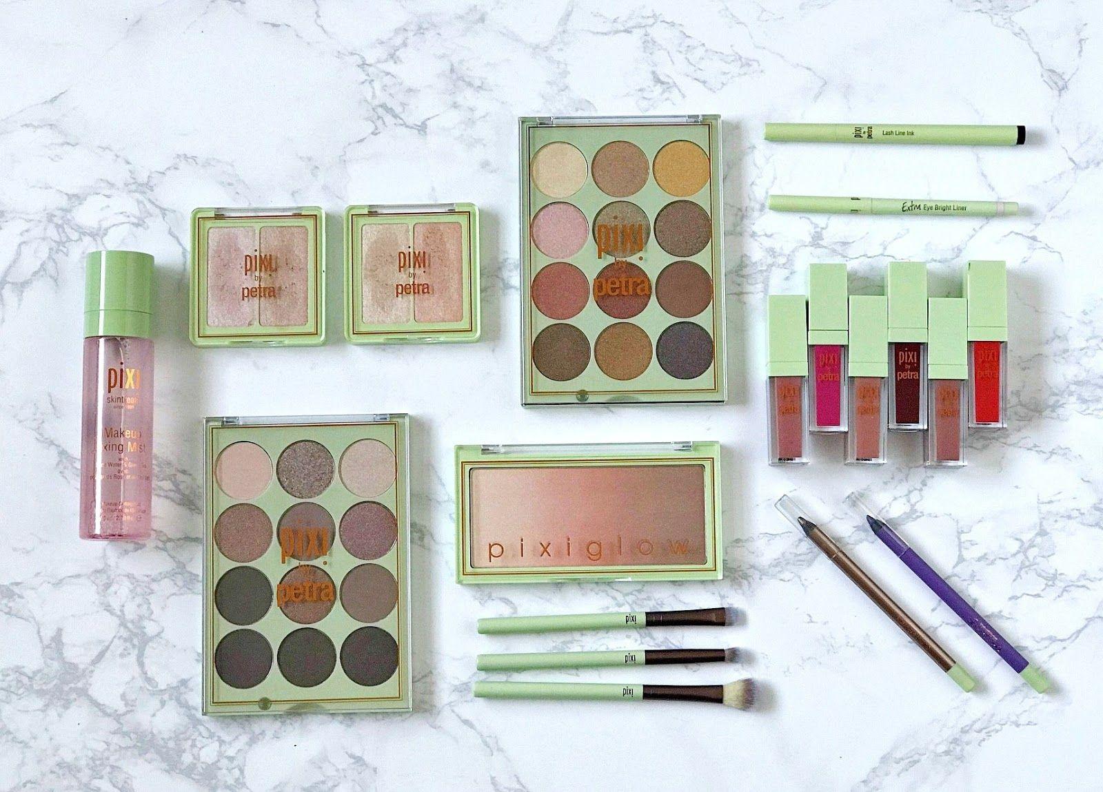 Pixi Makeup Fixing Mist, Pixi Eye Liner, Pixi Liquid Fairy