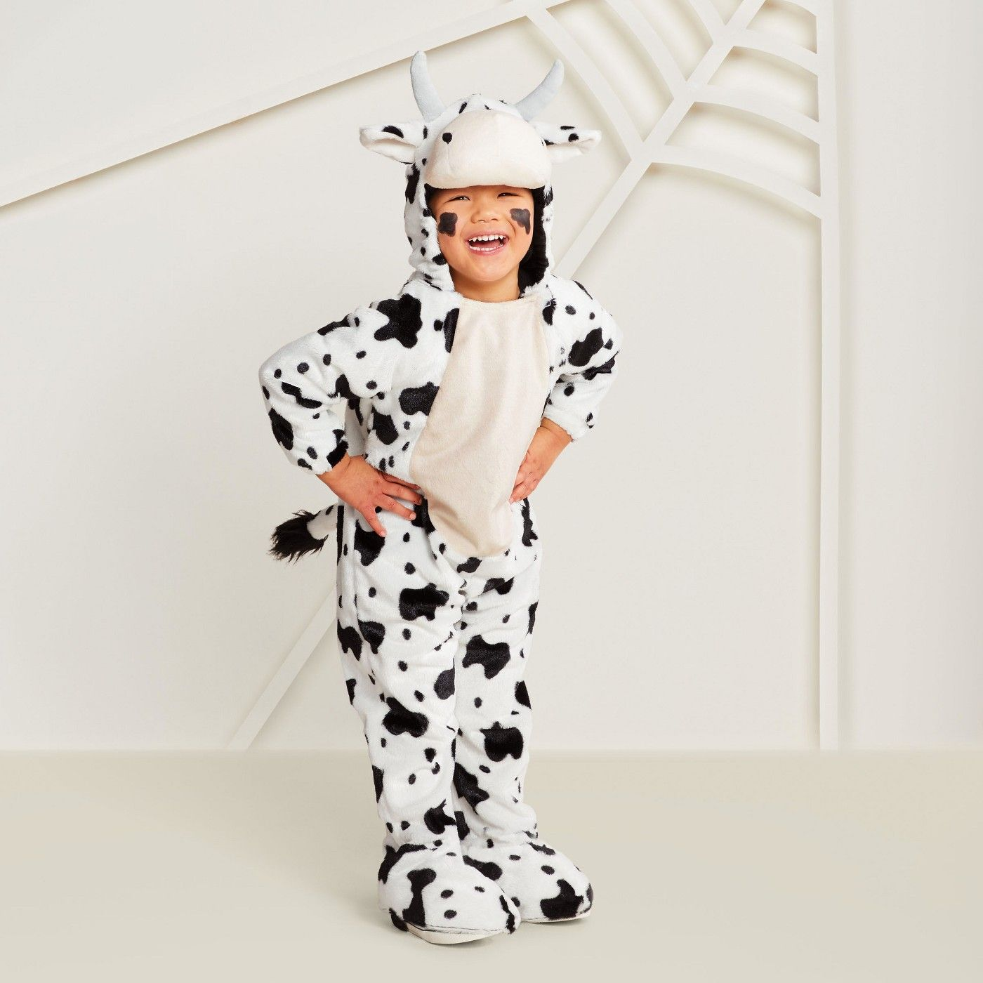 Toddler plush cow halloween costume tt hyde and eek boutique