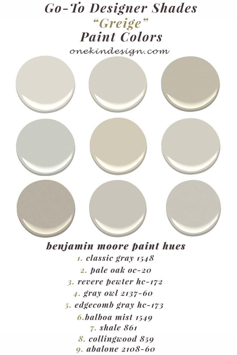 30 Exquisite Interior Spaces Showcasing The Color Greige Greige Paint Colors Greige Paint Paint Colors Benjamin Moore