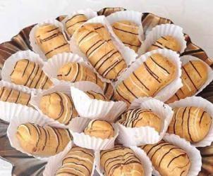 طريقة عمل الإكلير موسوعة الطبخ Mini Cupcakes Food Desserts