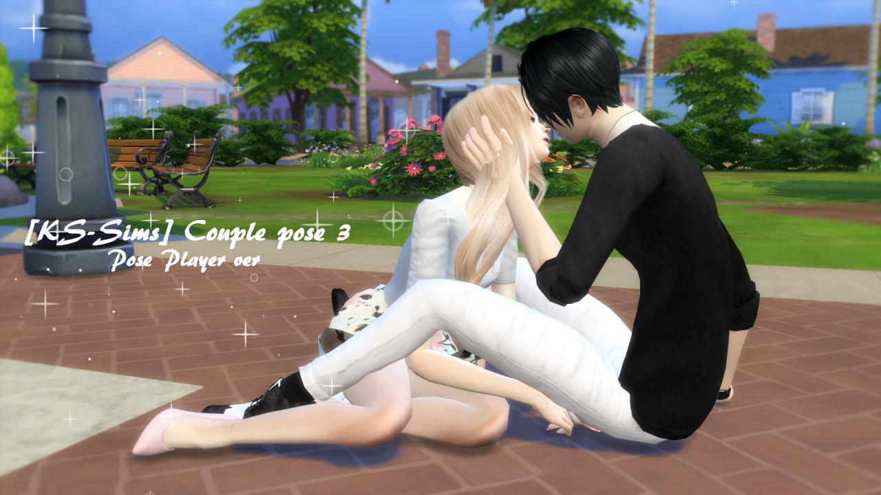 Kssims – [kssims] Couple Pose 3 [pose Player Version