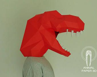 Dinosaur Mask - T-Rex