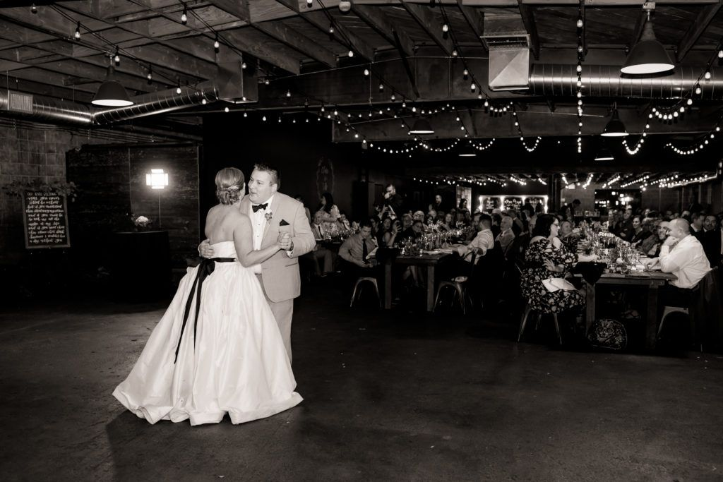 Clare + Vito's Winter Wedding at Smoky Hollow Studios ...