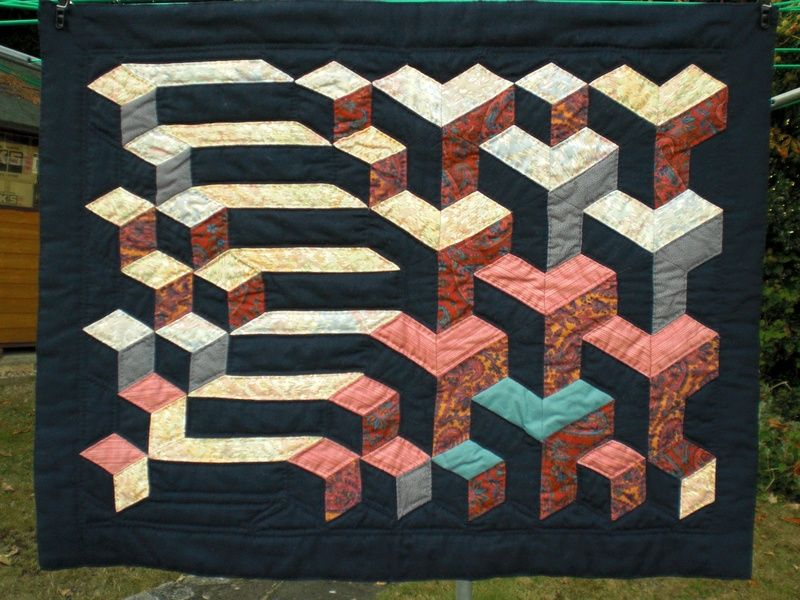 Gallery - Quiltessence - Amanda Paul   Illusion Quilts   Optical