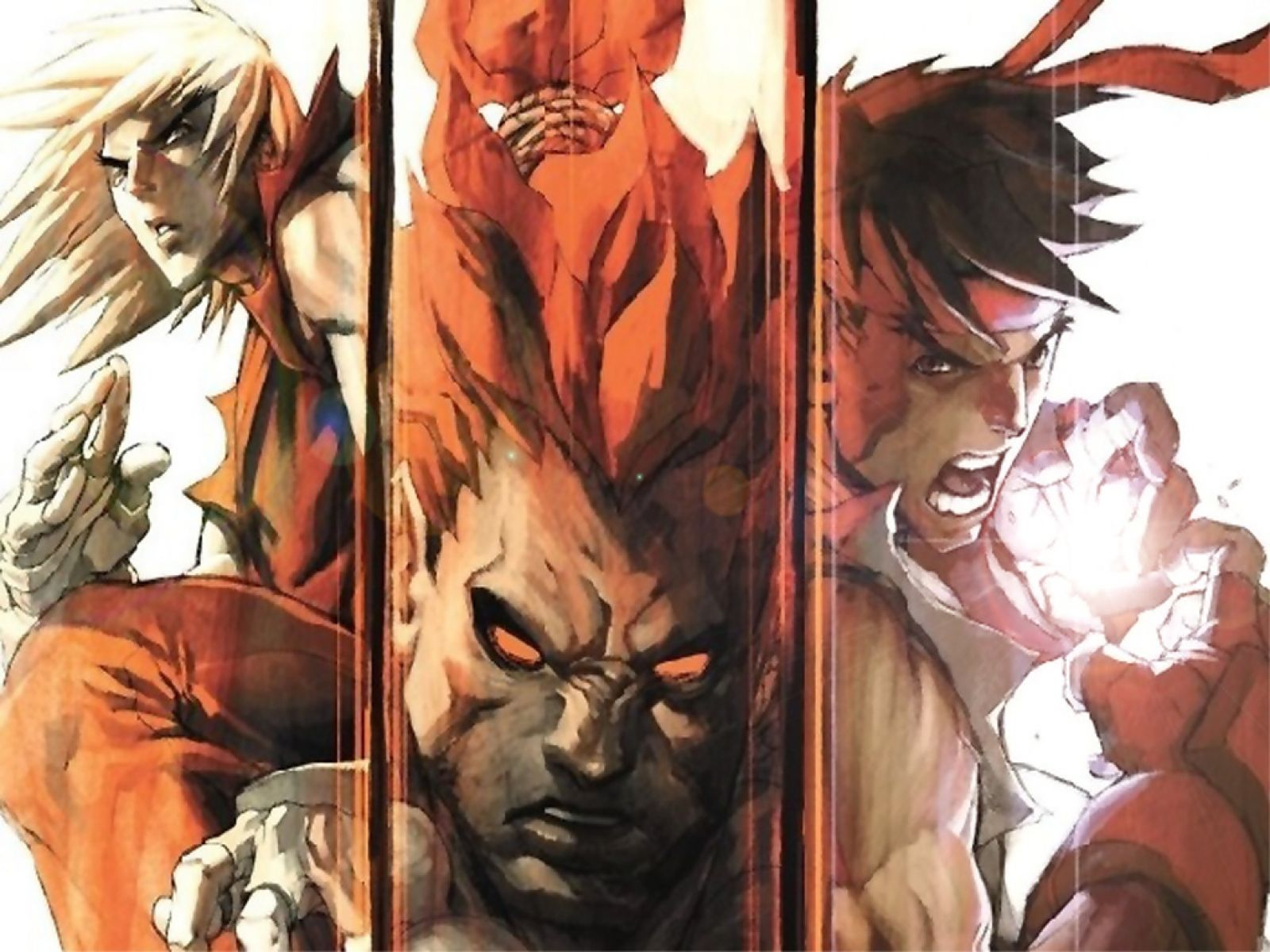 ryu vs ken fighting games wallpaper image featuring street fighter