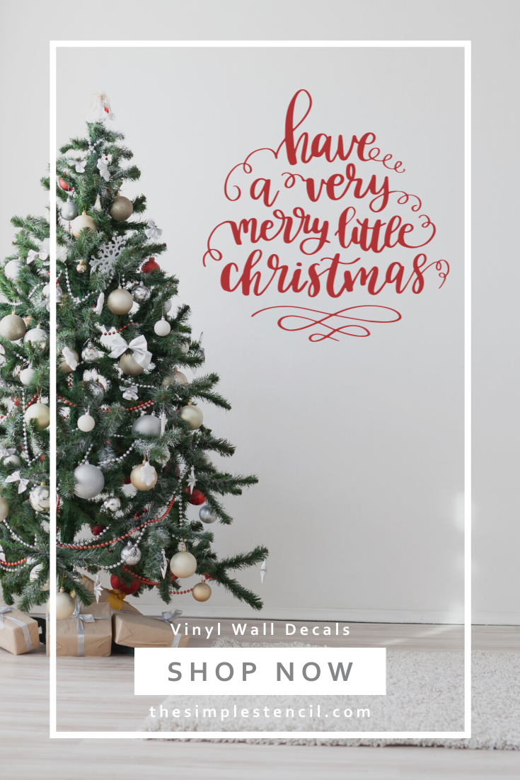 Wall Decals Wall Quotes Sayings Wall Art Stencils Custom Vinyl Quotes For Walls Christmas Wall Decal Vinyl Wall Lettering Stencil Wall Art