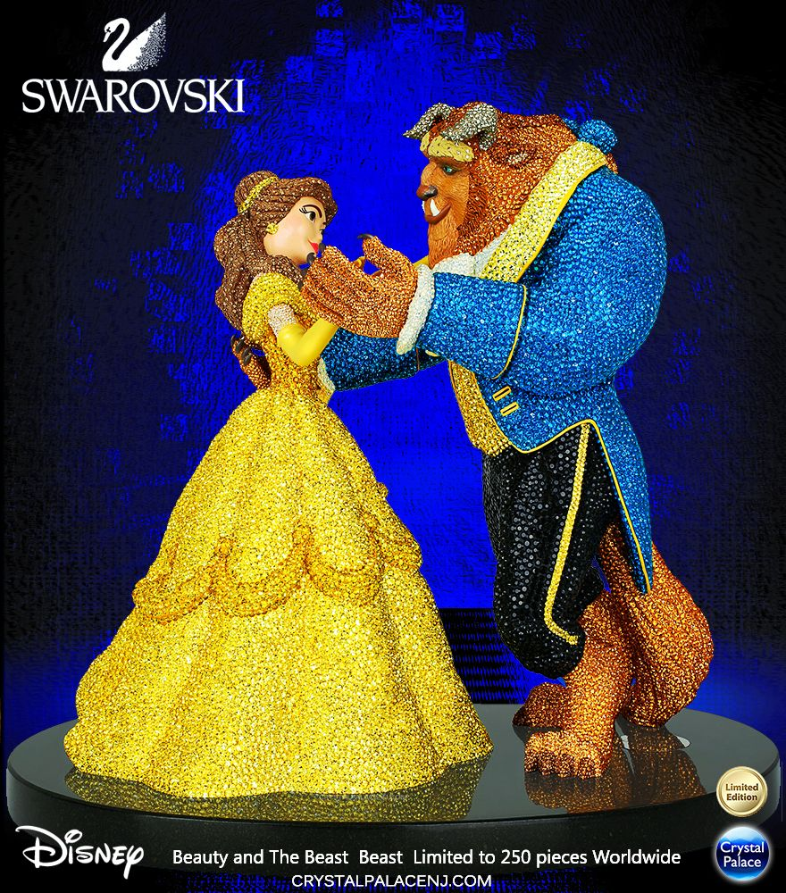 Swarovski Crystal Myriad Disney Beauty And The Beast