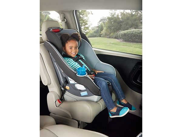 Contender 65 Convertible Car Seat In Black Carbon Holds A Rear Facing Infant From Lbs And Forward Child Its Harness