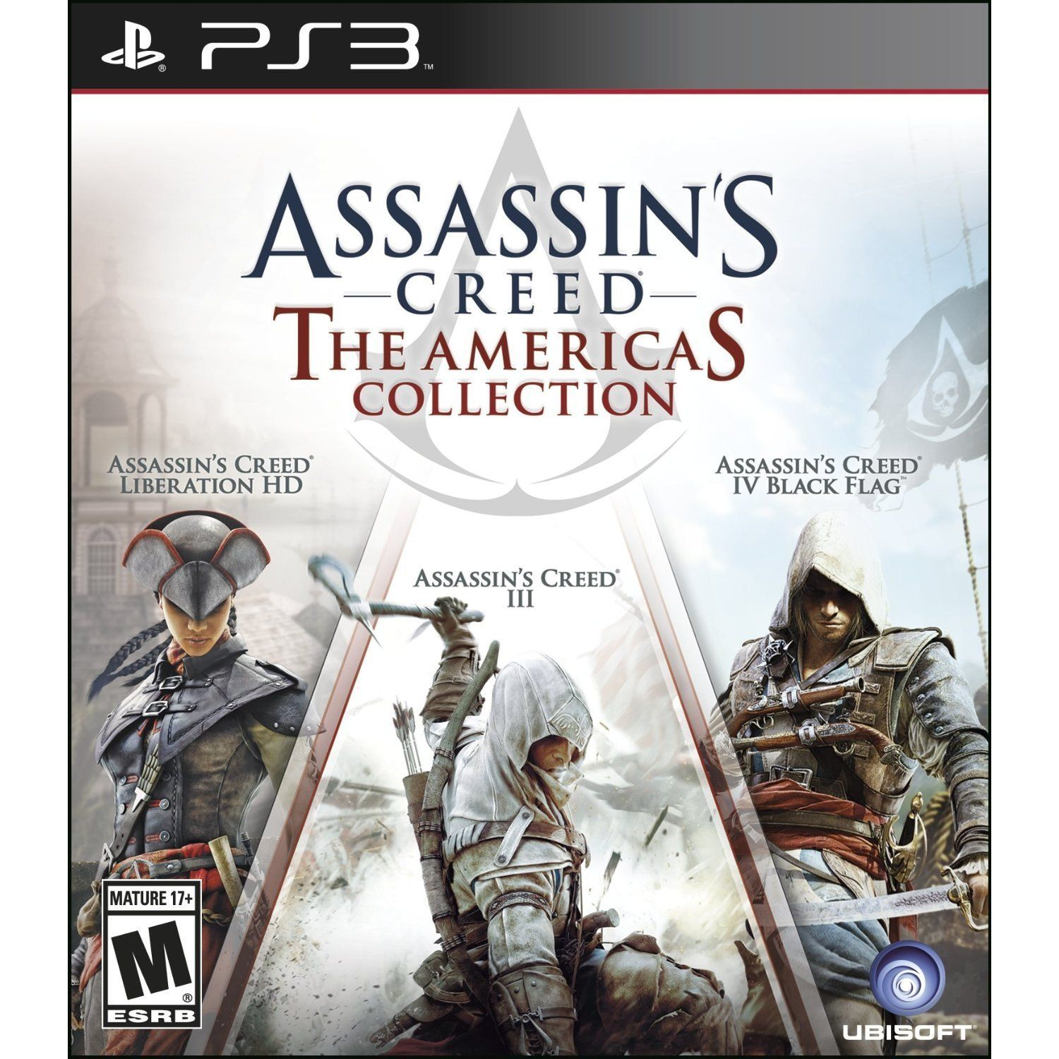 Ps3 Assassins Creed The Americas Collection Assassins Creed