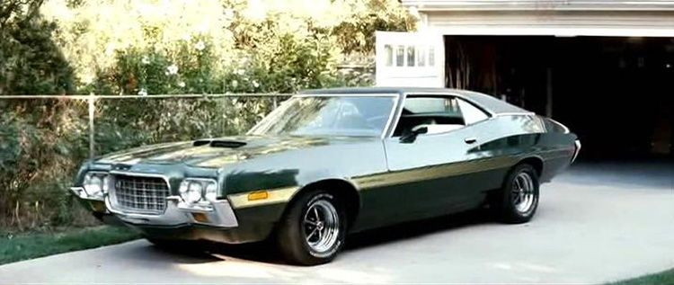 1972 Ford Gran Torino Sport Blue 1 25 Promotional Johan Car
