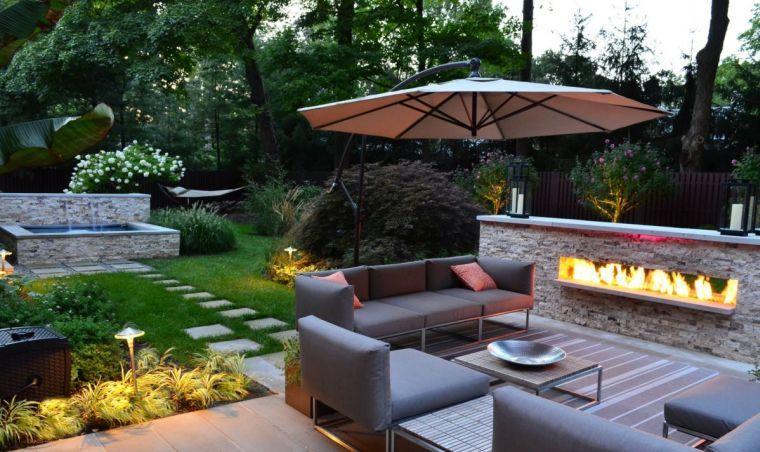 Aménagement extérieur pour la cour, la terrasse ou le jardin ...