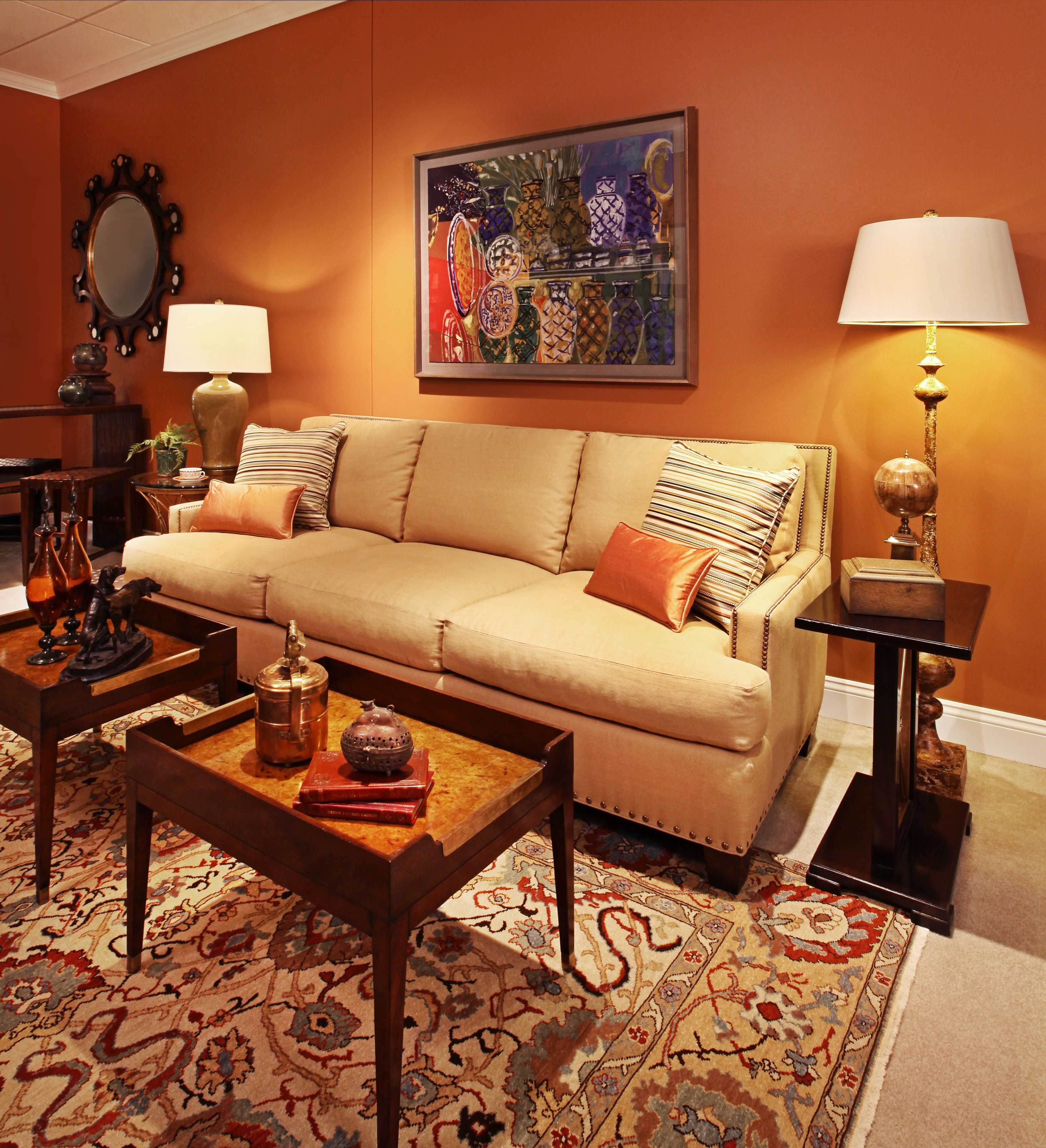 """""""The Man Cave"""" in RJ Thomas, Suite 82 by Donna Brown, NKBA, of Dazzlimg Designs Photo by Jeff Garland"""