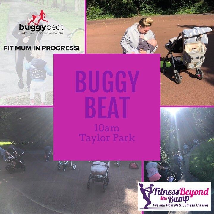 Buggy Beat 10am Taylor Park. There is still time to book on the term £30 for 5 sessions or a PAYG se...