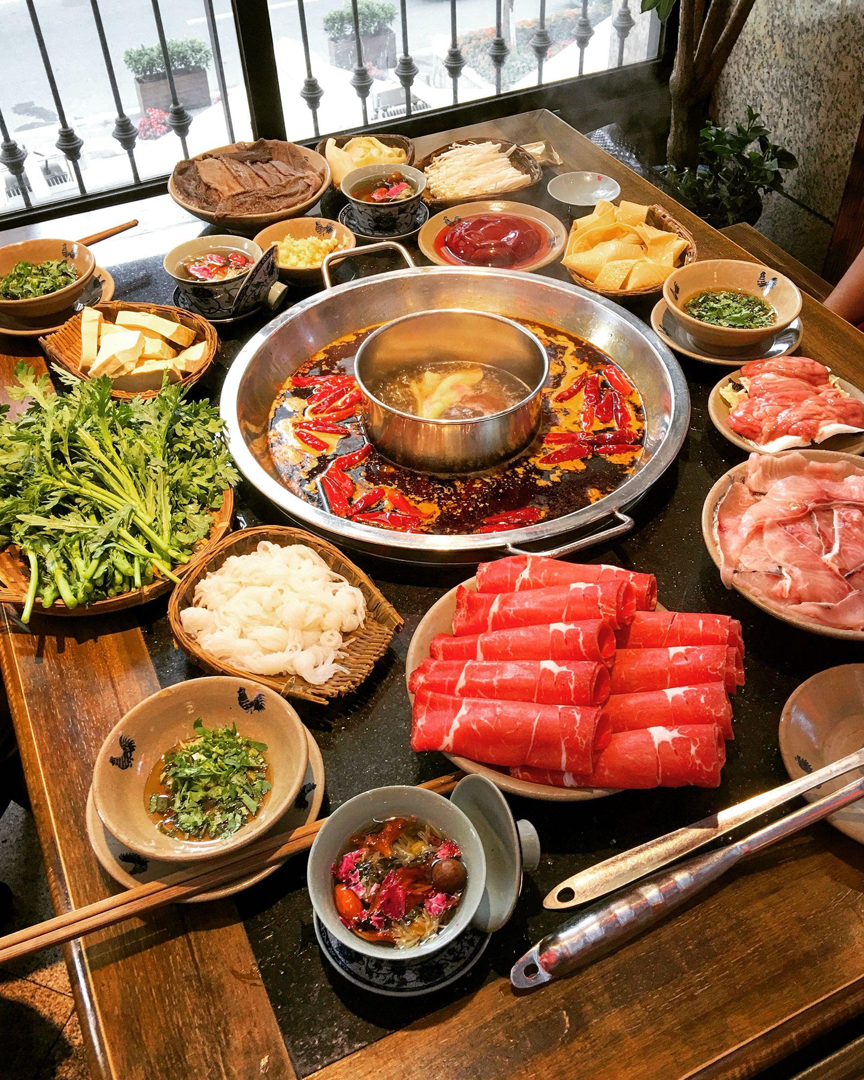 Hot Pot Hot Pot Recipe Food Goals Food And Drink