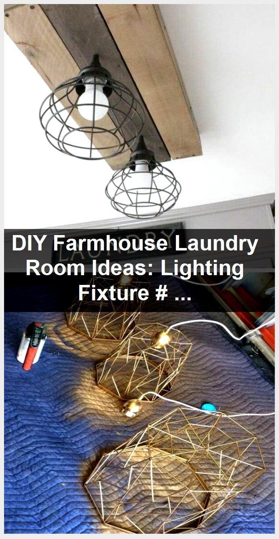 Photo of DIY farmhouse laundry room ideas: lamp #farmhouse #farmhousestyle #f …, #DIY #F …