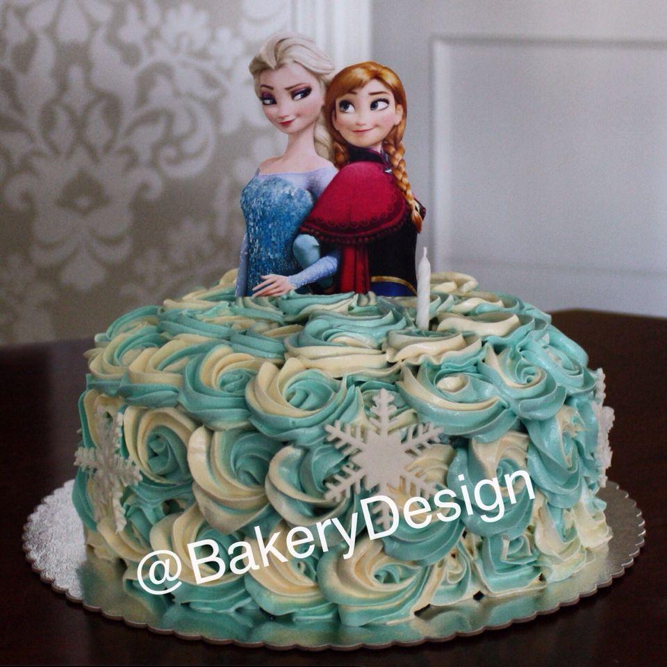 Frozen cake  Cakes  Pinterest