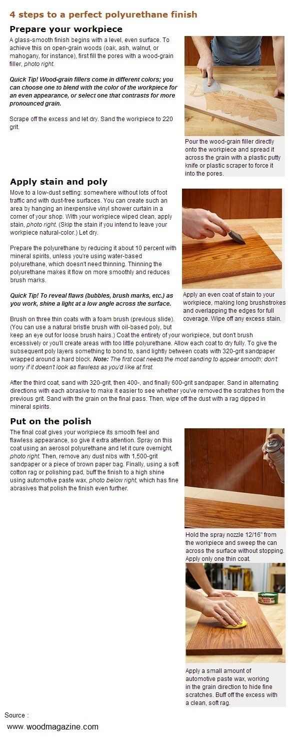 4 Steps To A Perfect Polyurethane Finish Woodworkerz Com Wood Turning Learn Woodworking Wood Turning Projects