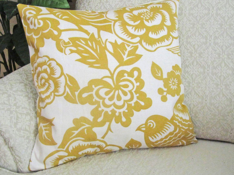 Bird Throw Pillow Cover Sofa Cushion Cover Sofa Pillow