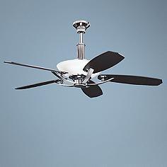 "56"" Kichler Palla Midnight Chrome Finish Ceiling Fan"