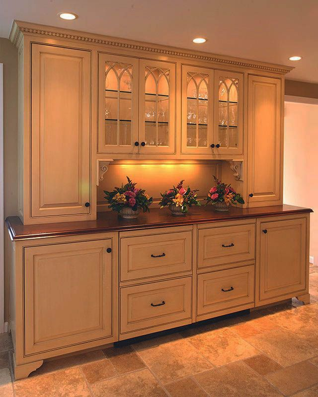 White Dining Room Hutch: Modish Dining Room Hutch And Buffet White Only In
