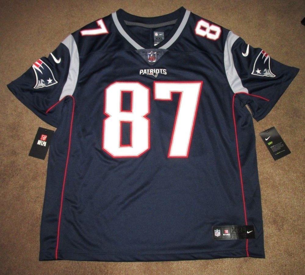 Nike New England Patriots Gronkowski 87 Sewn Limited Mens Jersey 2xl 850904 421 Nike Newenglandpatriots New England Patriots Gronkowski Gronkowski Nike Nfl