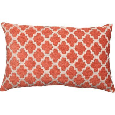 Winston Porter North Stoke Lumbar Pillow Orange Throw