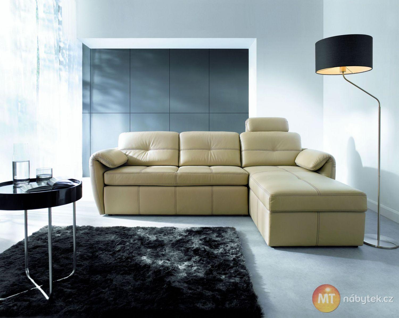 Luxusni Kozena Sedaci Souprava Candelaria Rozkladaci Sofa Divan Settee Couch Divan Nabytek Pohovka