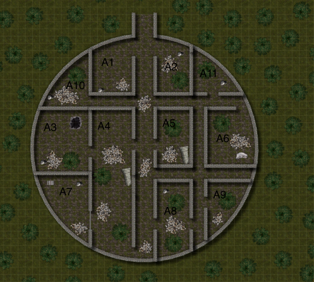 Shuzal Entrance Citadel Map
