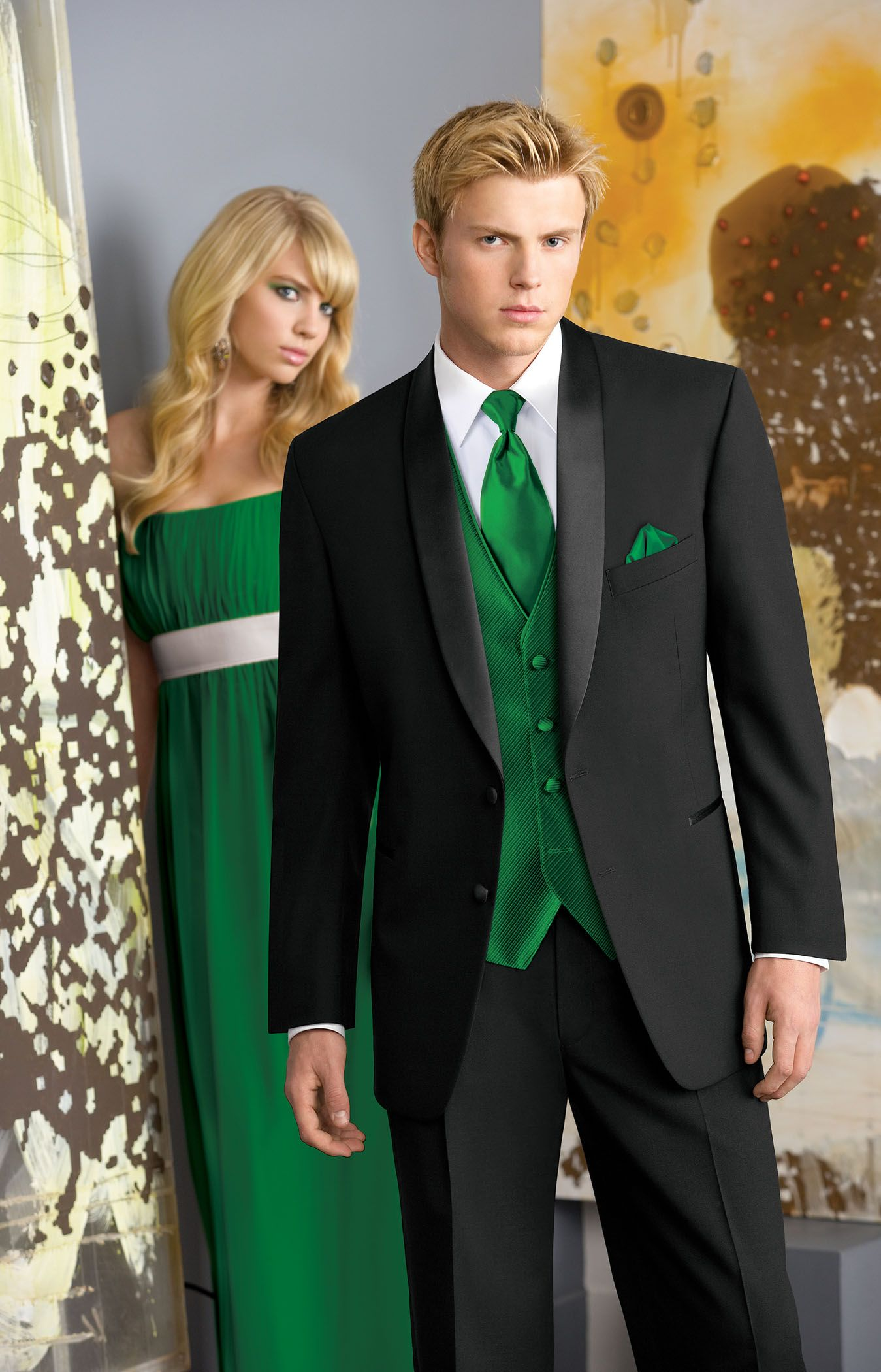Absolutely Fitting | Orlando | Tuxedo | Prom | Green | Emerald ...