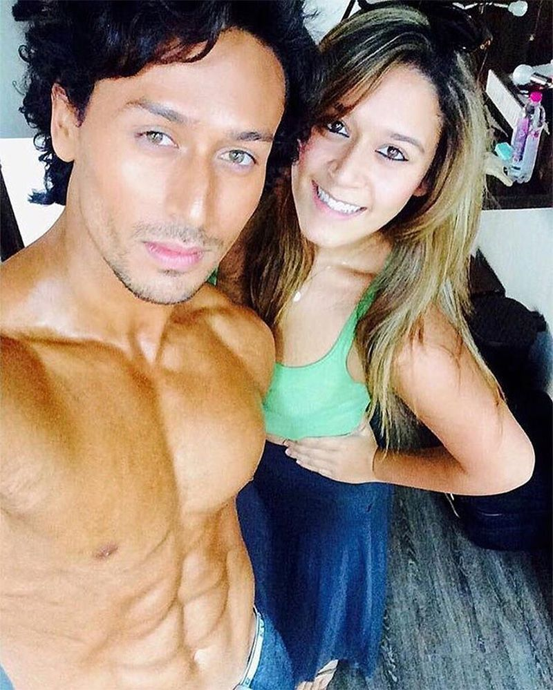 Good Looking Brother-Sister Jodi Tiger And Krishna Shroff -9428