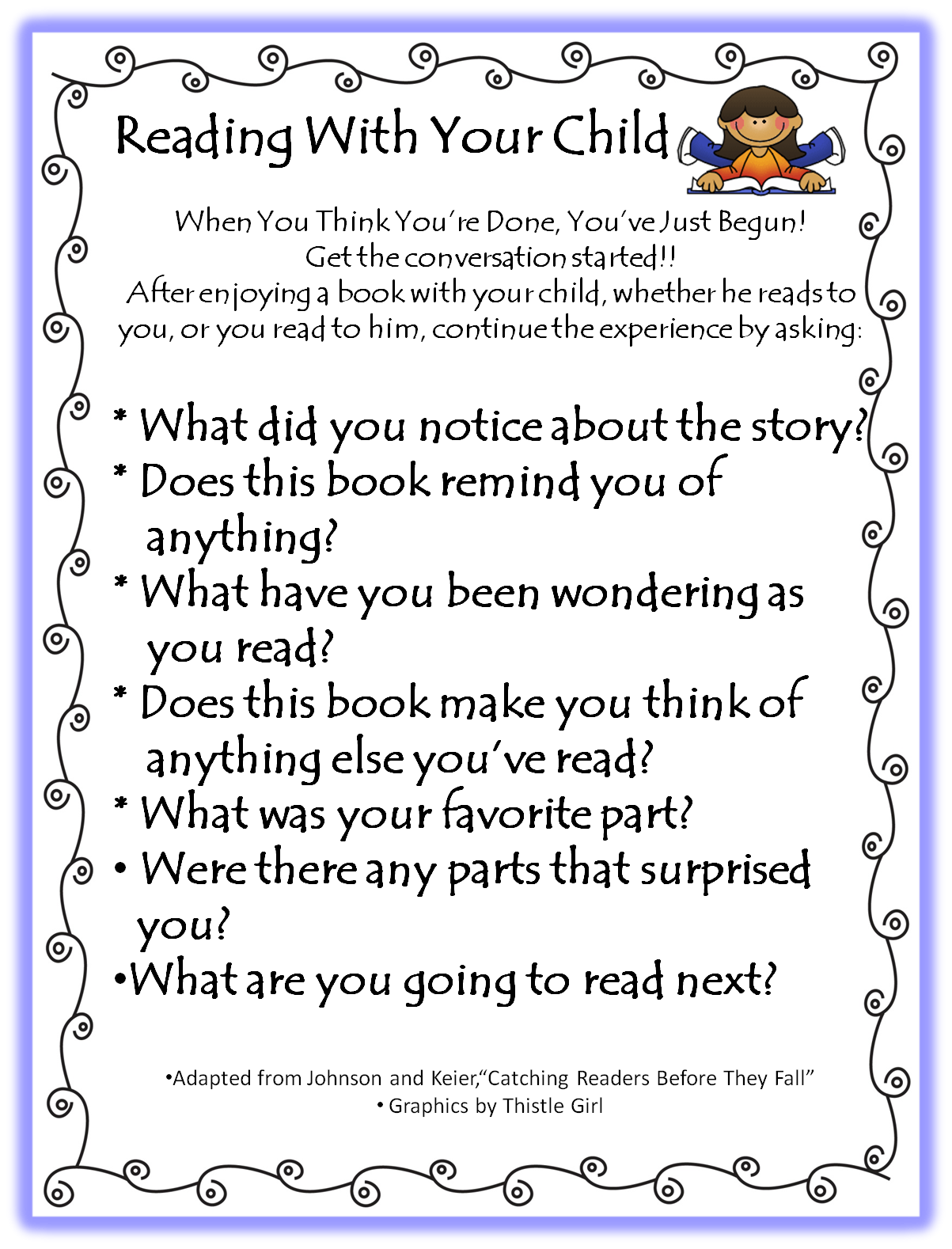 1st grade Reading With Your Child