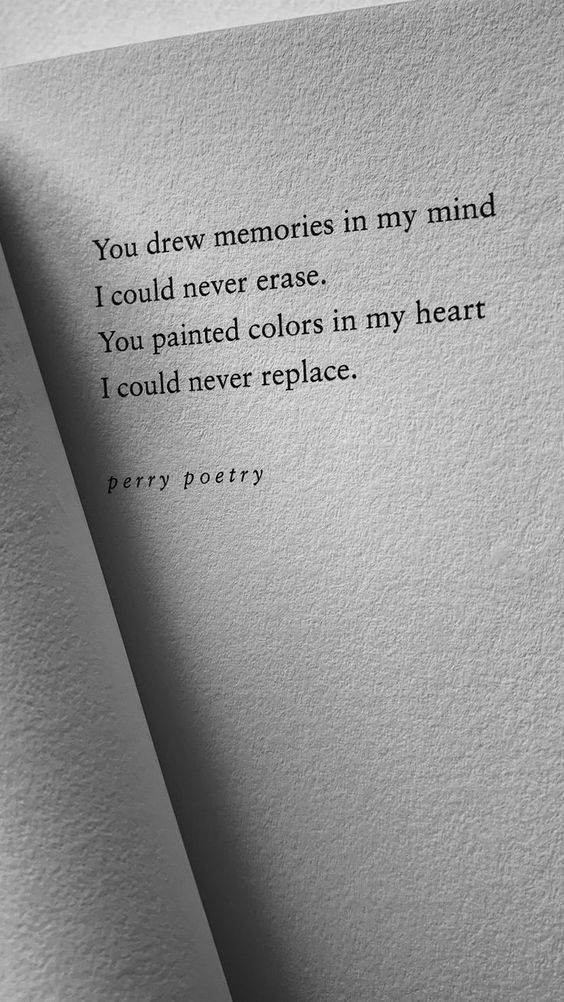 YOU DREW MEMORIES IN MY MIND   Statements  Quotes | CATRIN AND JACOB
