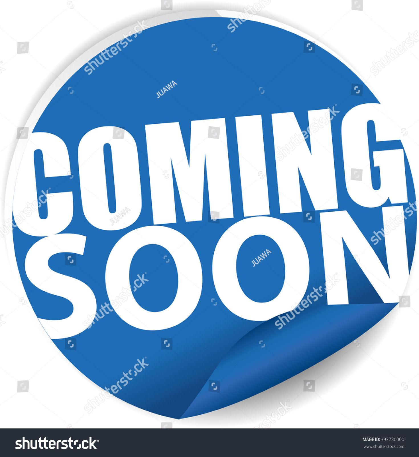 Coming soon blue Label, Sign, stickers and symbol. #Ad , # ...