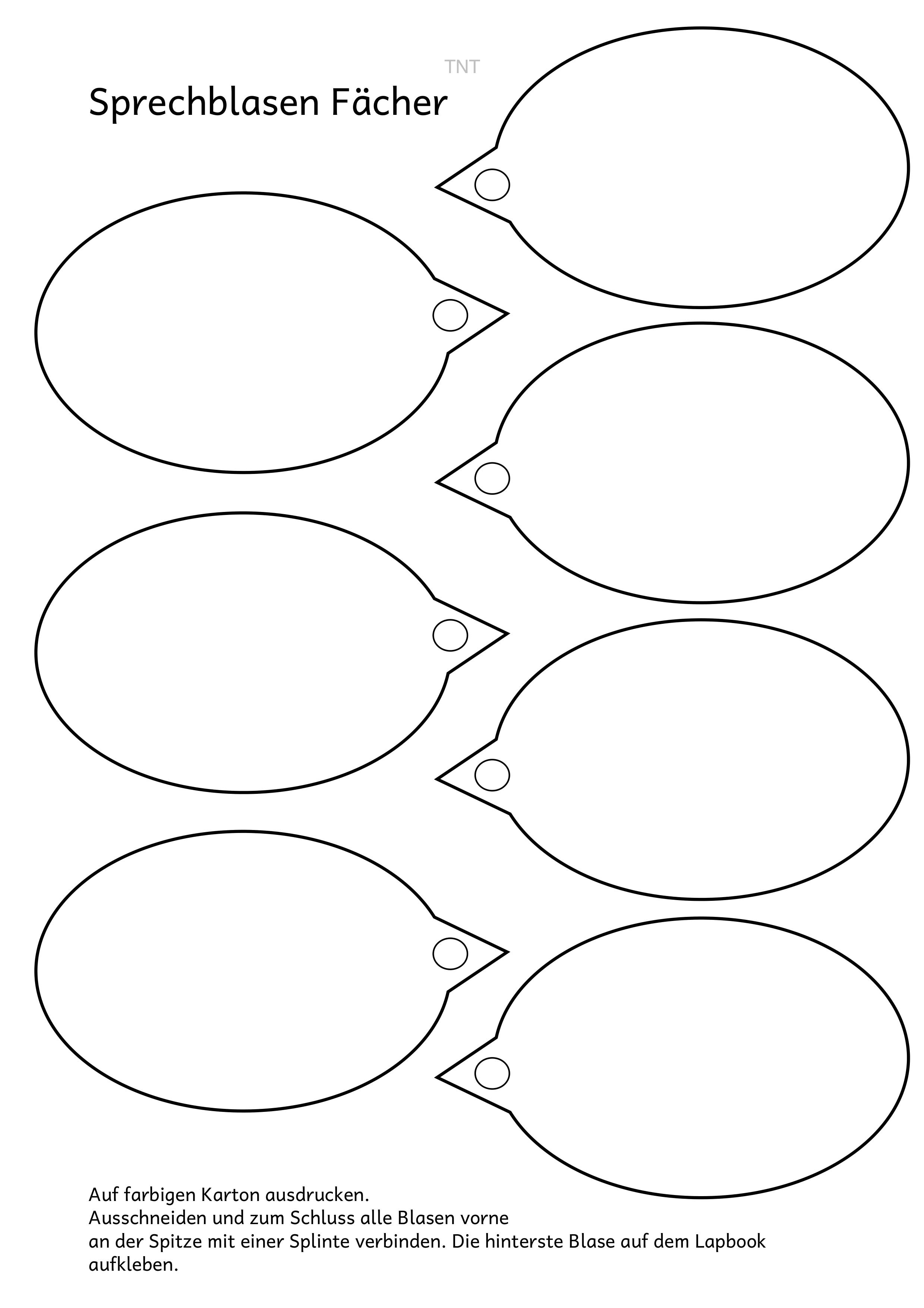 Faltformen In Der Grundschule Lapbook Vorlagen 8