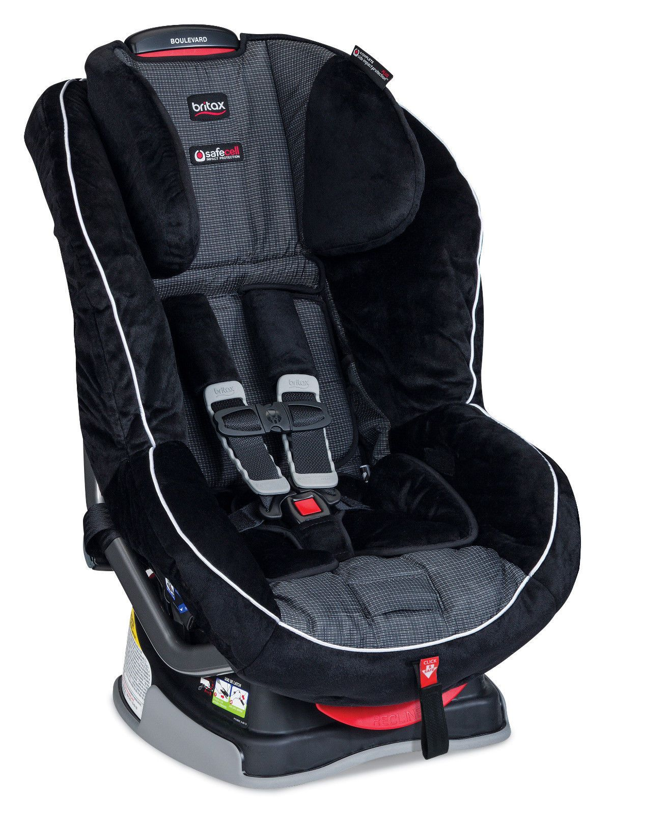 Britax Boulevard G4 1 Convertible Car Seat In Onyx New