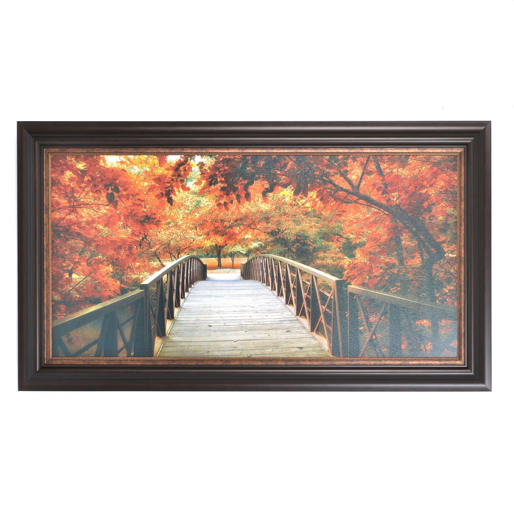 Entrance to Autumn Framed Art Print | House