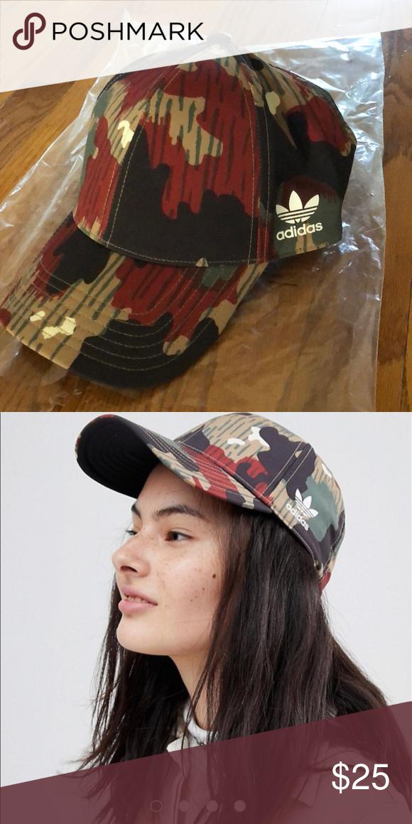 05969f8fe1cc9 Adidas Originals X Pharrell Williams Hu Camo Cap Adidas Originals X  Pharrell Williams Hu Camo Cap BNWOT adidas Accessories Hats