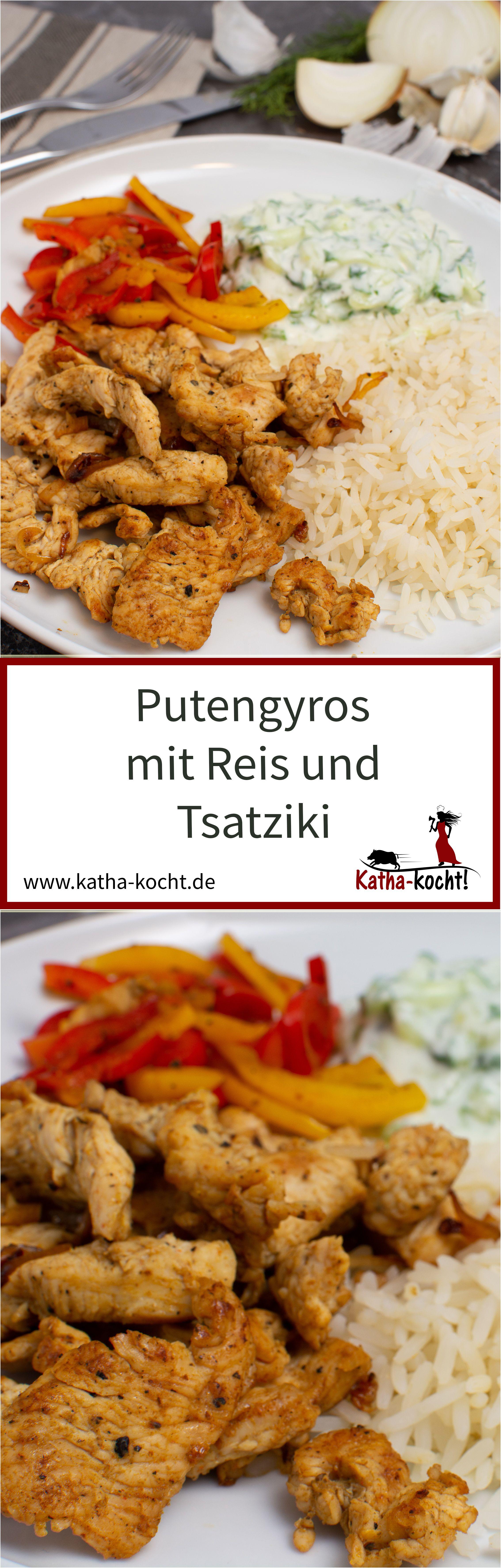 putengyros mit reis und tsatziki c c cooking cooking recipes und food. Black Bedroom Furniture Sets. Home Design Ideas