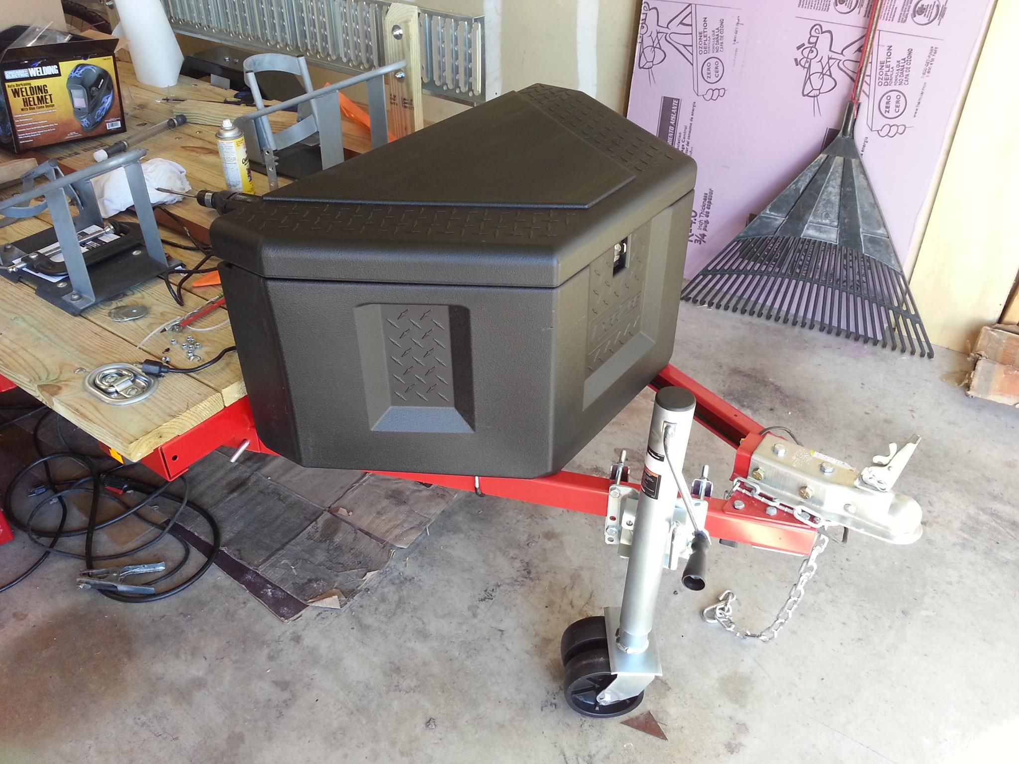 My Harbor Freight 4x8 Utility Trailer Build Out Zx6r Forum Further On Wiring Kit