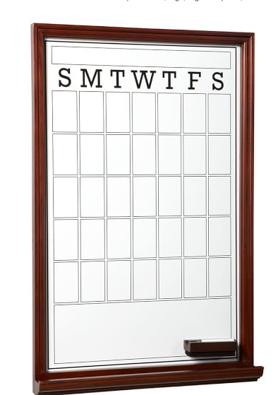 Study Wall Boards Single Magnetic Dry Erase White Dry