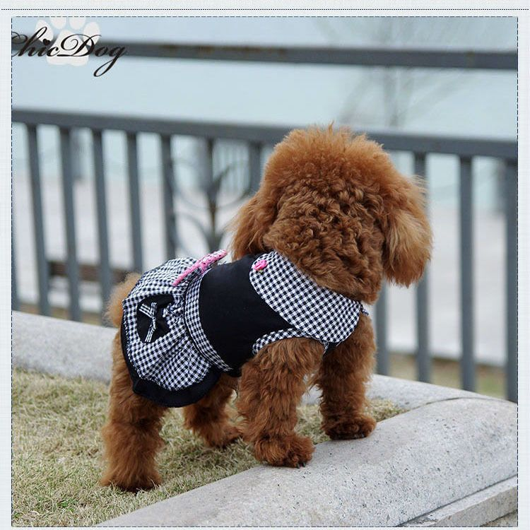 New Fashion Pet Dog Clothes Dress Spring Summer Clothing For Dogs Chihuahua Ad Ad Clothes Dress Dog Dog Winter Clothes Dog Clothes Small Dog Clothes
