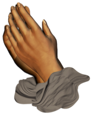 Clip Art Graphics Kneeling In Prayer God Loves You Praying Hands