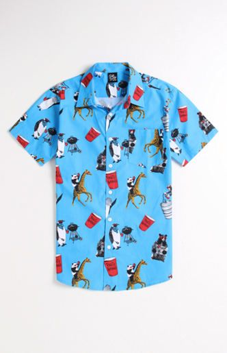 Party Animals Woven Shirt