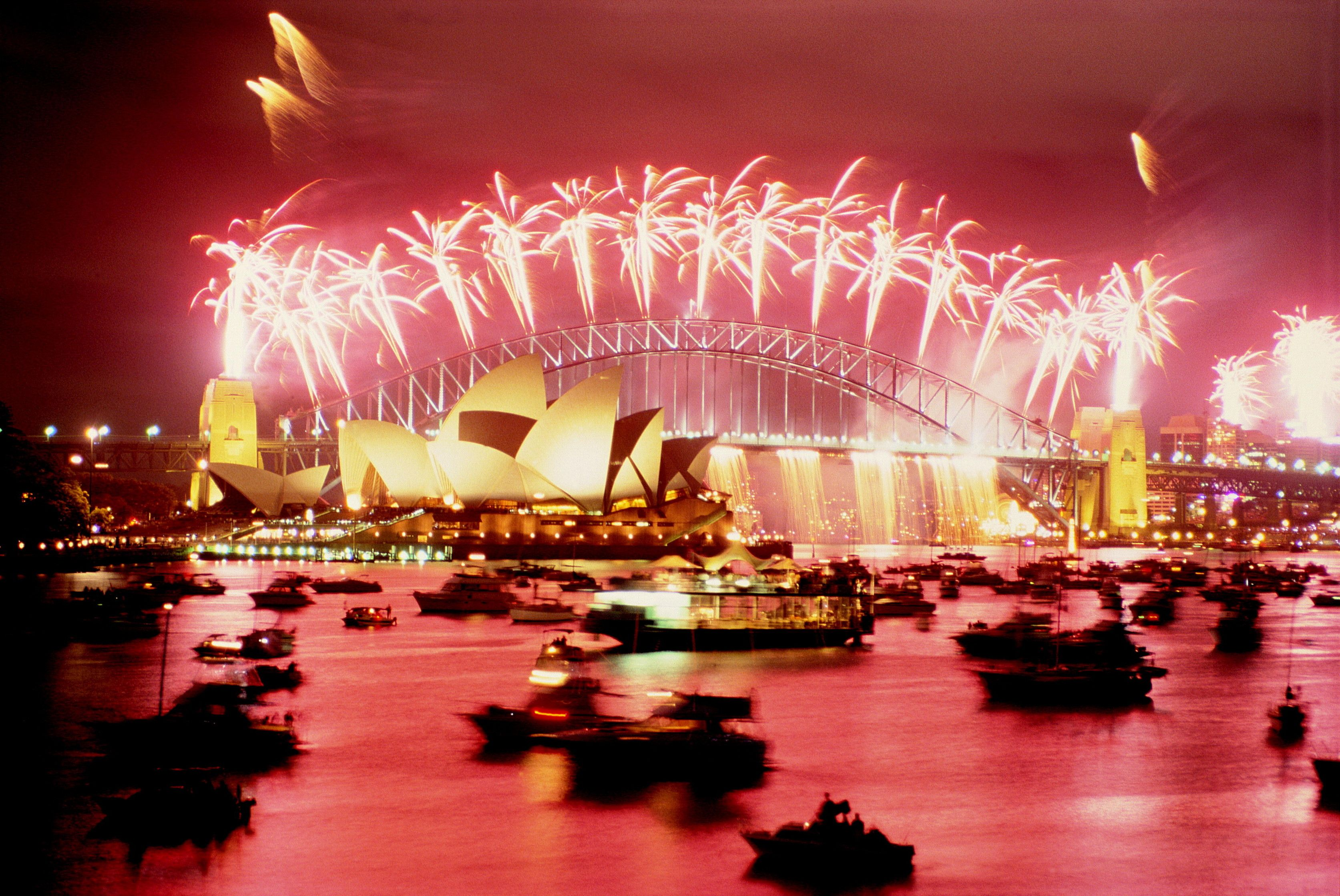 Celebrating the NewYear in Sydney New years eve