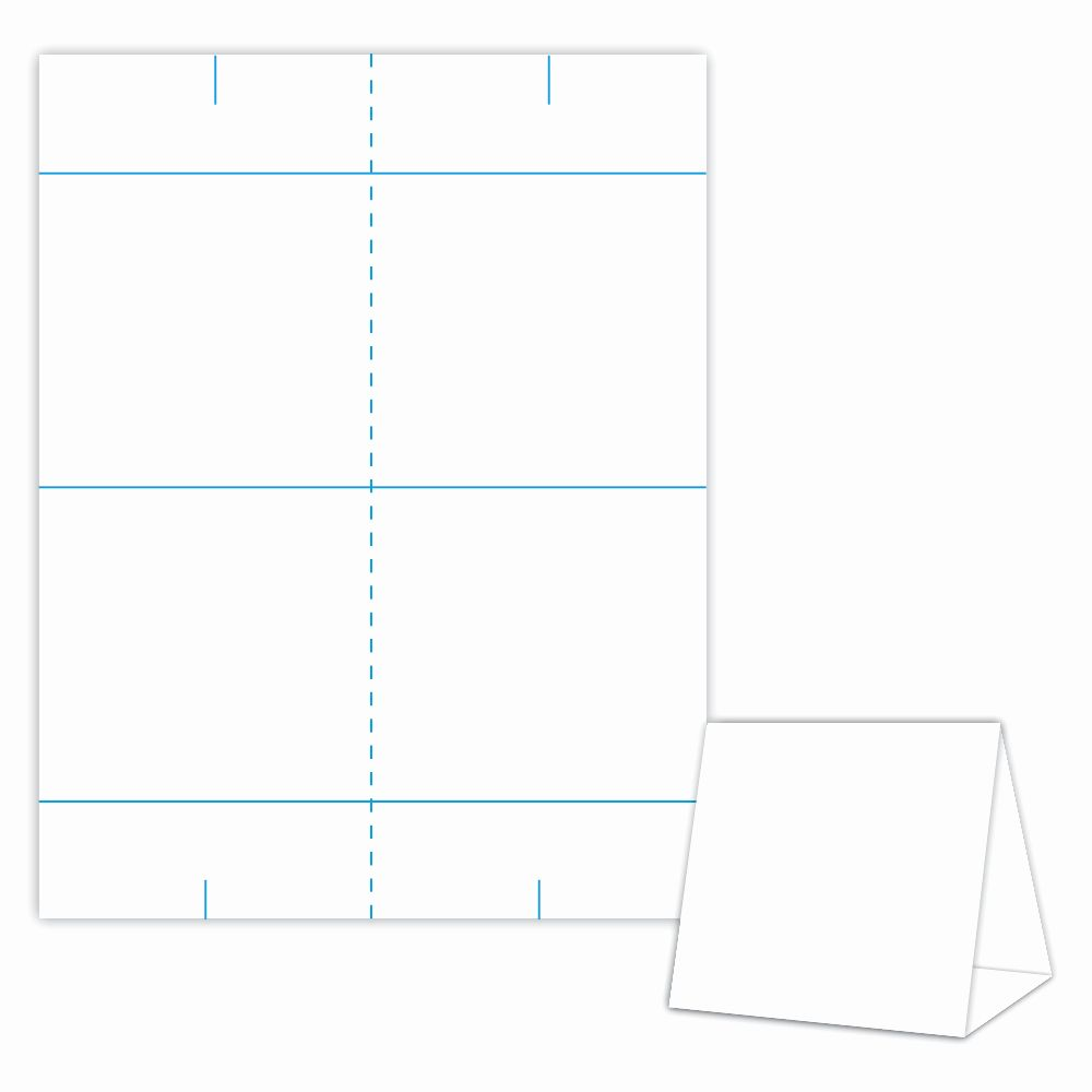 Large Tent Card Template Best Of Table Tent Design Template Blank Table Tent White Table Tents Templates Printable Free Card Templates Printable