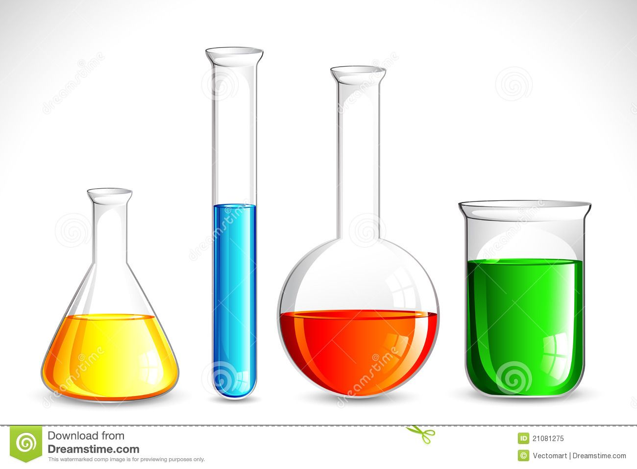 Chemical Lab Clipart Solution